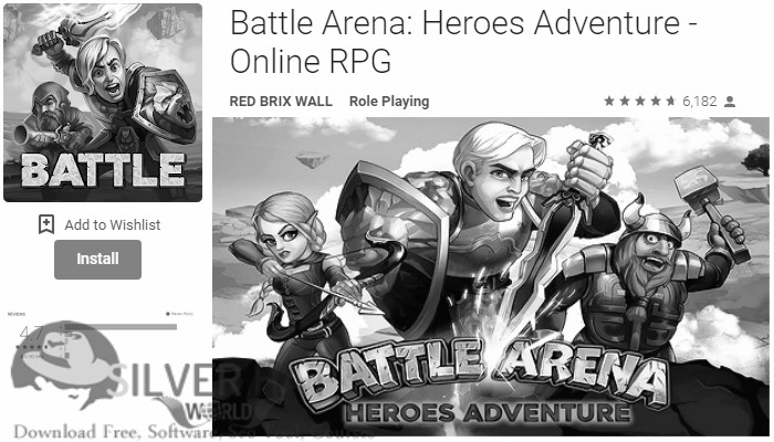 Battle Arena Heroes Adventure Online RPG APK