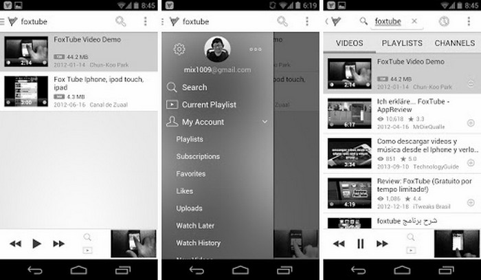 Download FoxTube YouTube Player APK Latest App